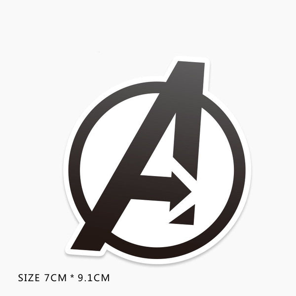 Avengers Logo Vinyl Sticker Decal