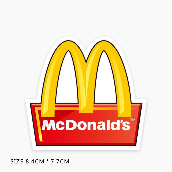 McDonald's Vinyl Sticker