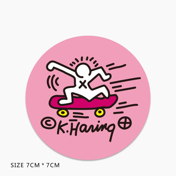 Keith Haring Skateboard Vinyl Sticker Decal