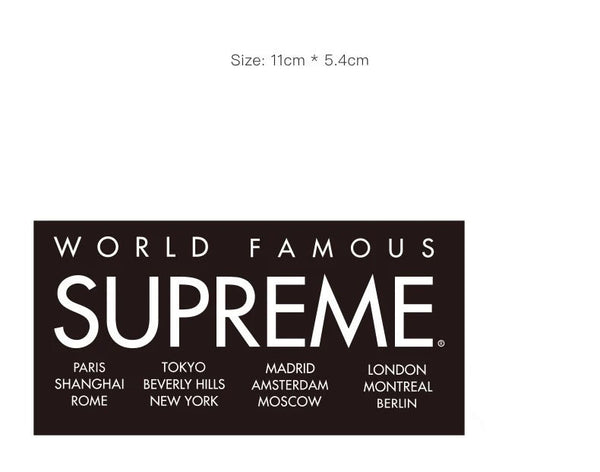 Supreme Vinyl Sticker Decal