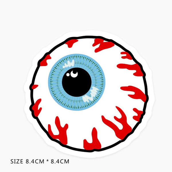 Eyeball Vinyl Sticker Decal