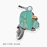 Vespa Vinyl Sticker Decal