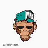 MNK Monkey Vinyl Sticker Decal