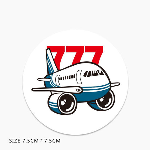 Boeing 777 Vinyl Sticker Decal
