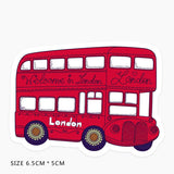 London Bus Vinyl Sticker Decal