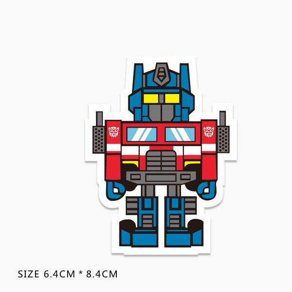 Optimus Prime Vinyl Sticker Decal