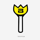 Bigbang Light Stick Vinyl Sticker Decal