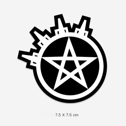 Star Logo Vinyl Sticker Decal