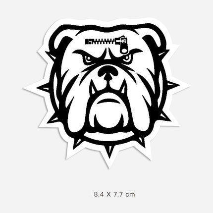 Bulldog Vinyl Sticker Decal