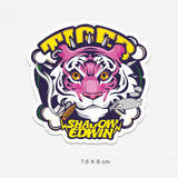 Shadow Edwin Tiger Vinyl Sticker Decal