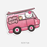 Hello Kitty Van Vinyl Sticker Decal