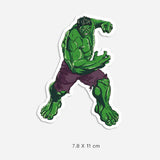 Hulk Vinyl Sticker Decal