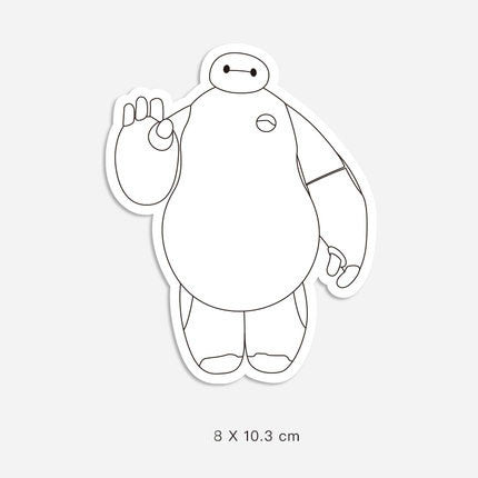 Big Hero 6 Vinyl Sticker Decal