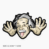 Albert Einstein Vinyl Sticker Decal