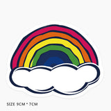 Rainbow Vinyl Sticker Decal