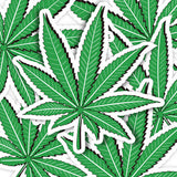 Weed Vinyl Sticker Decal