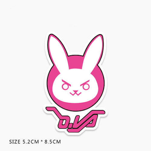 Overwatch D.Va Vinyl Sticker Decal
