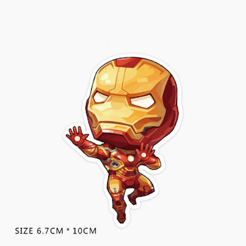 Iron Man Vinyl Sticker Decal