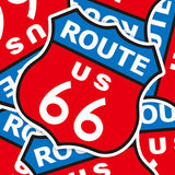 Route US 66 Vinyl Sticker Decal