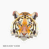Tiger Art Design Vinyl Sticker Decals