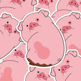 Gravity Falls Waddles Vinyl Sticker Decal