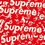Supreme Box Louis Vuitton Red Vinyl Sticker Decal