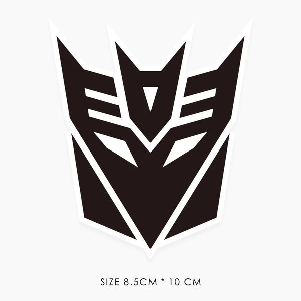 Transformer Decepticon Vinyl Sticker Decal