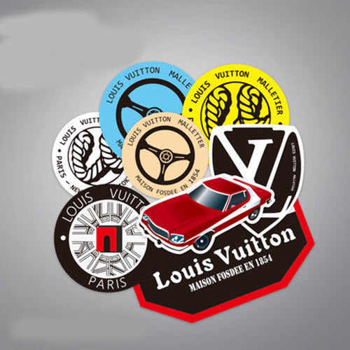 8 x Louis Vuitton LV Dope Vinyl Sticker Pack