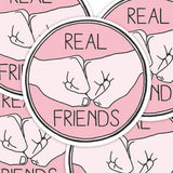 Real Friends Vinyl Sticker Decal