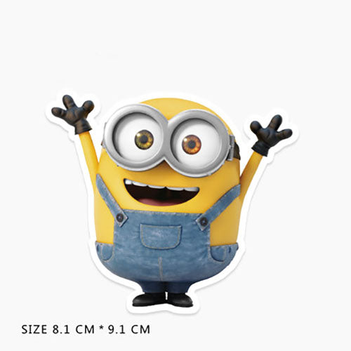 Minions Bob Cartoon Vinyl Sticker Decal