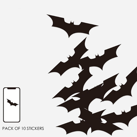 10 x Batman Mini Sticker Pack