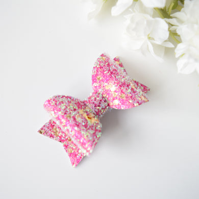 Pink Candy Mini Bow