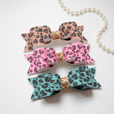 Choice of Leopard Print Bow