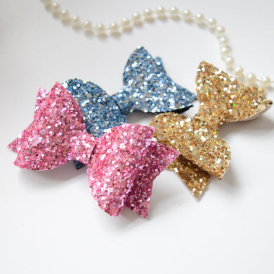 Choice of Mini Glitter Bow