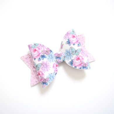 Medium Butterfly Floral Bow