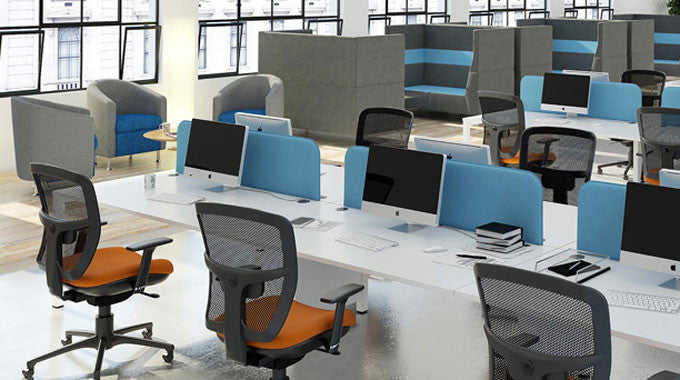 Introducing the Dams Range of Office Furniture