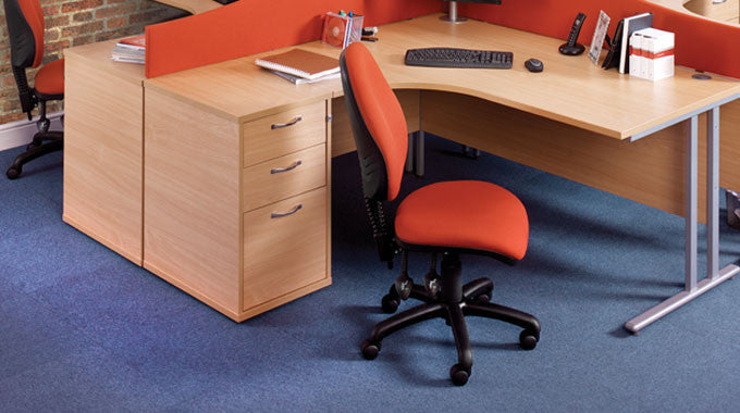 3 Drawer Under Desk Pedestal Deals & Discounts - With Free UK Shipping