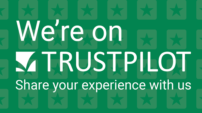 We Are Now On TrustPilot so Please Leave Your Feedback