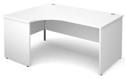 White ergonomic office desks reviews - click here for the Maestro deal