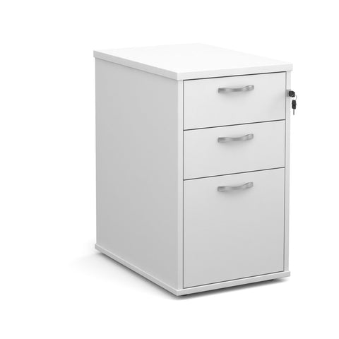 Maestro Desk High Pedestal (White)