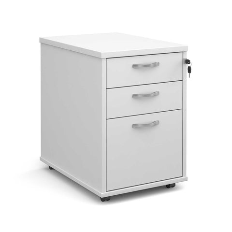 Maestro Tall 3 Drawer Mobile Pedestal
