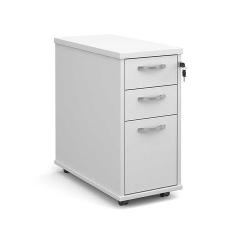 Maestro Tall Slim-Line 3 Drawer Mobile Pedestal