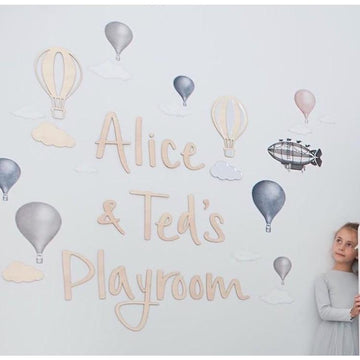 Personalised Playroom letters