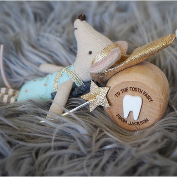 Tooth Fairy Personalised Wooden Box