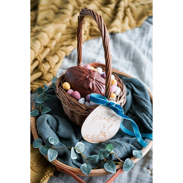 SMALL EASTER CANE BASKET