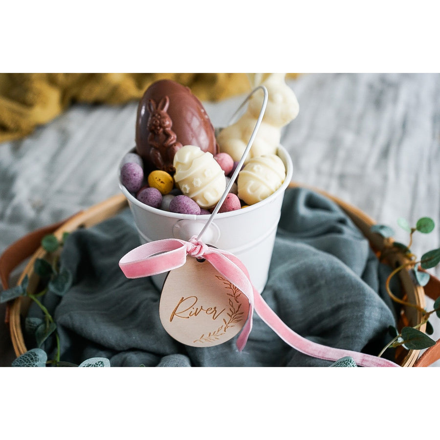 Easter egg collection bucket