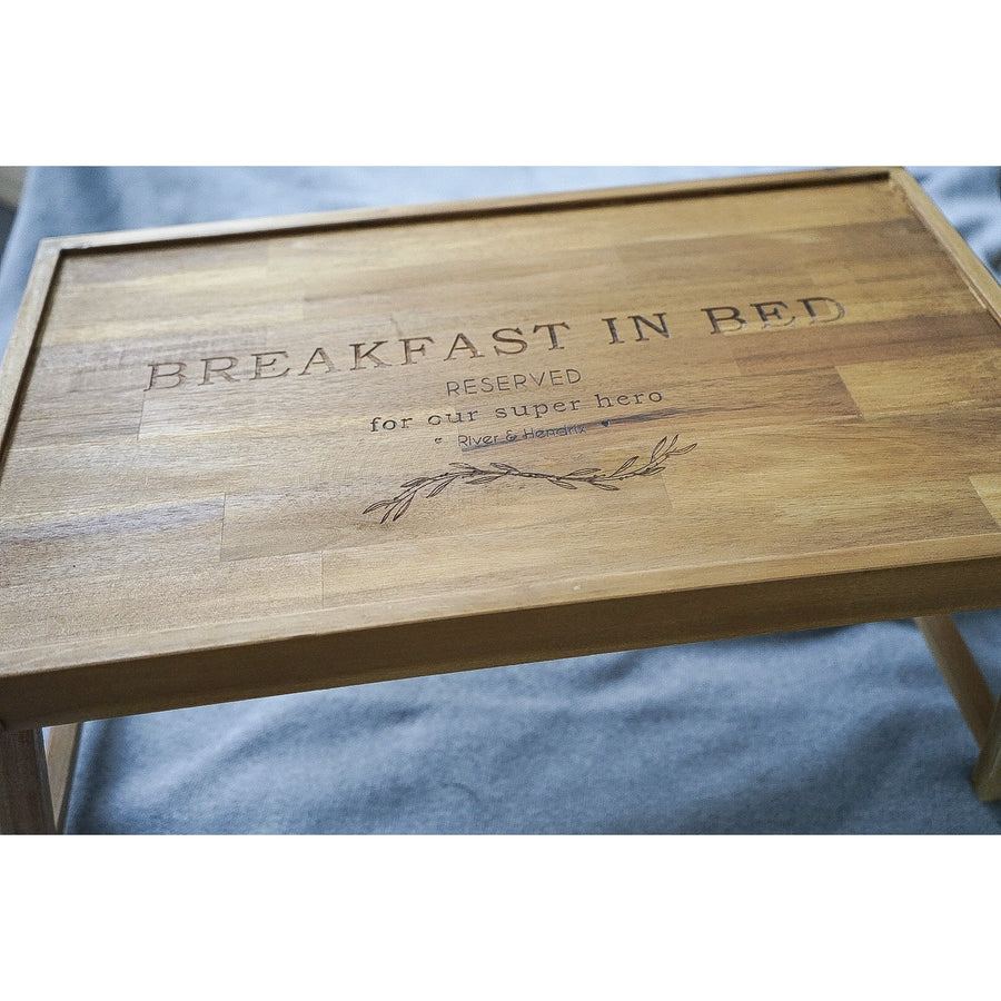 Breakfast tray