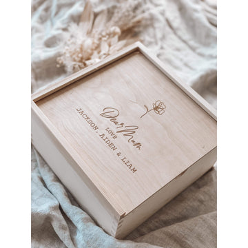 Letters to Loved ones mini keepsake box