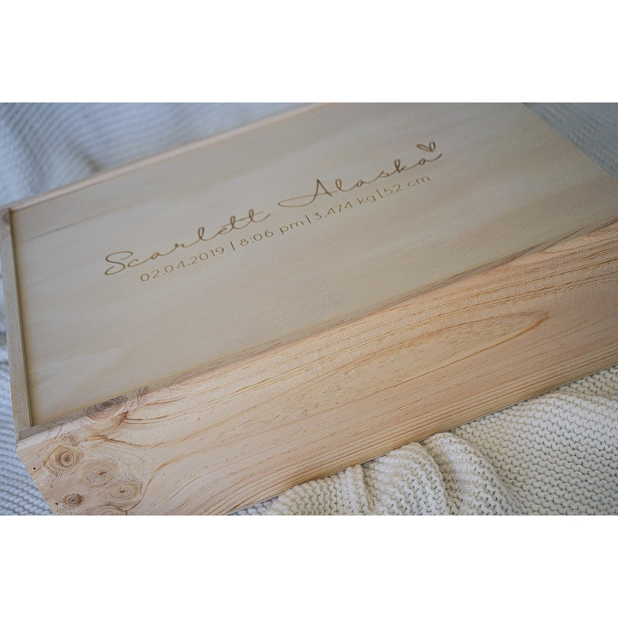 Extra large keepsake memory box