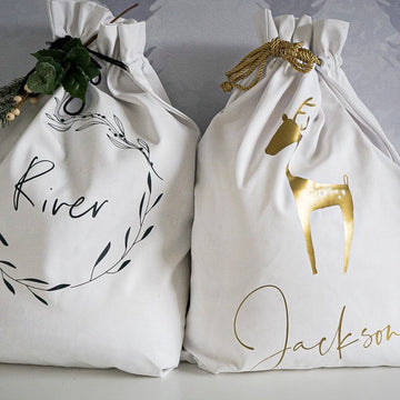 Personalised Christmas Santa Sacks